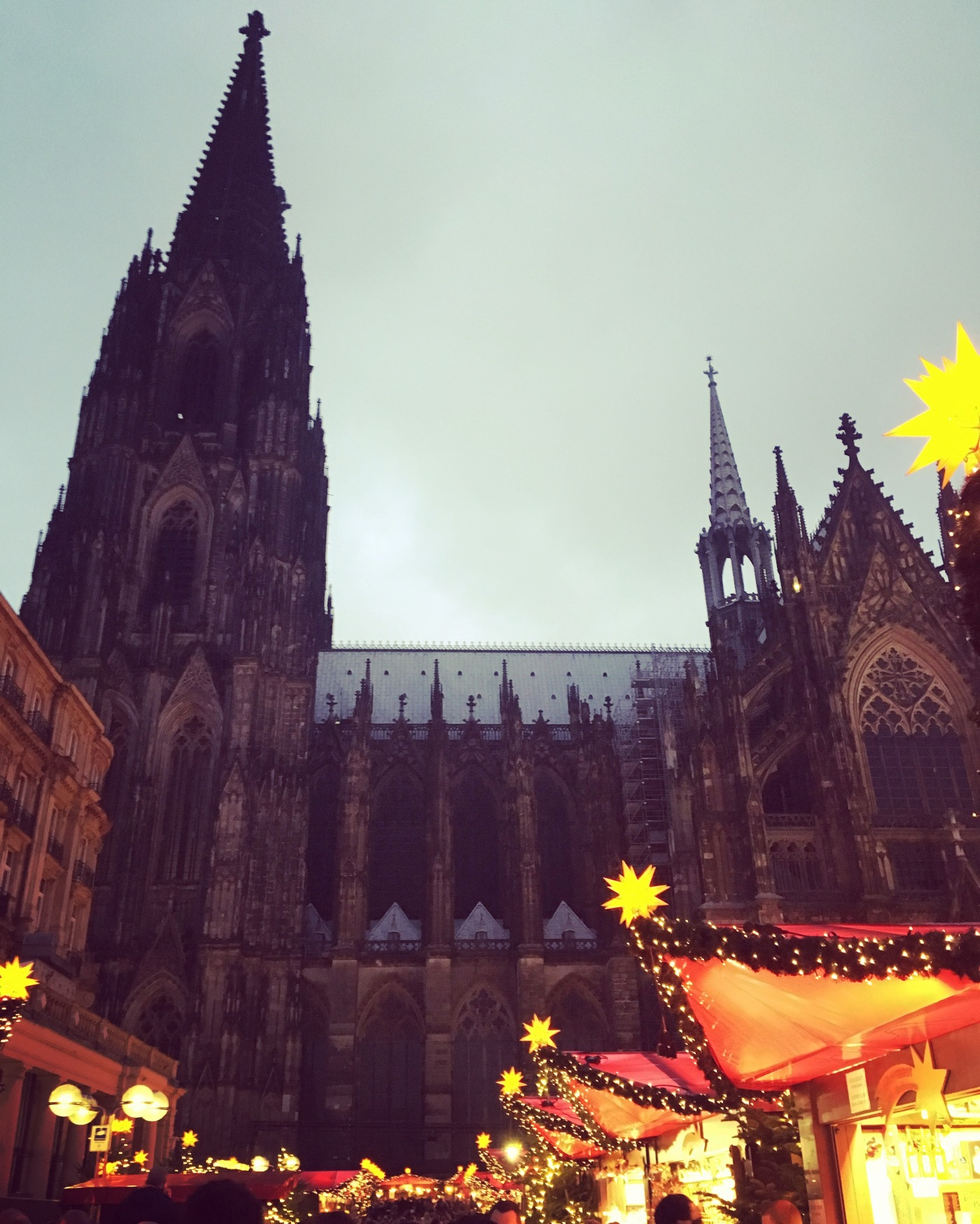 Cologne cathedral and Christmas markets. Perfect Christmas minibreak