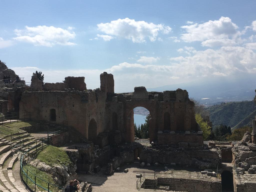 Greek amphitheater, Taormina